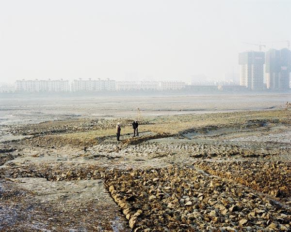 Thierry Girard Lit de terre de la rivière Wei à Baoji